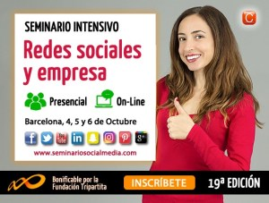 RSE 2016 Domina las redes sociales para tu empresa community internet enrique san juan