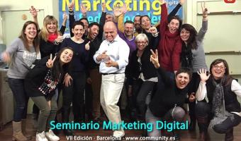 Seminario Marketing Digital VII Edicion Barcelona Enrique San Juan con Grupo 720