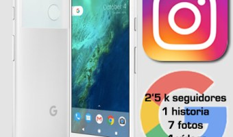 Google presenta a Pixel en Instagram Stories