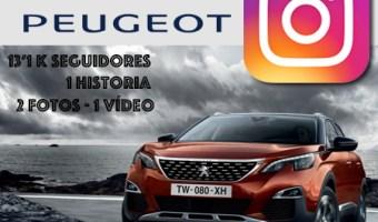 Peugeot acelera poco a poco en Instagram Stories