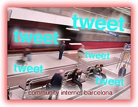 como hacer que los tweets se lean community internet barcelona
