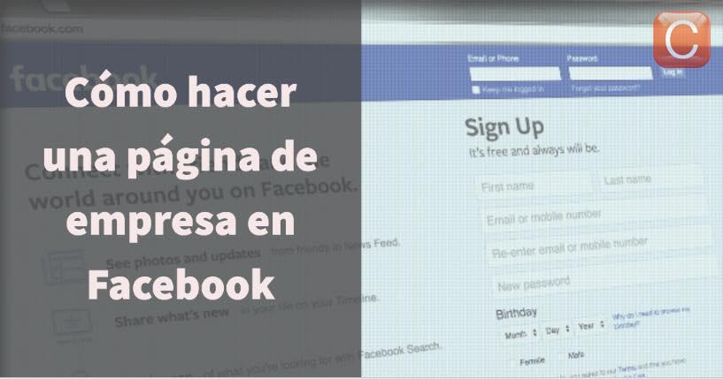 como hacer pagina empresa facebook community internet