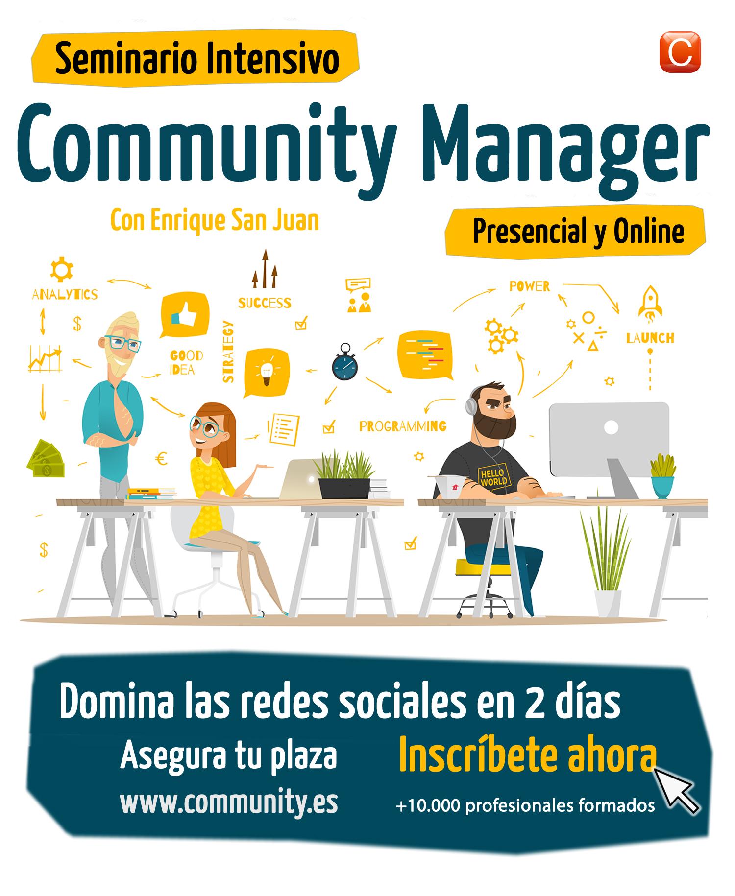 seminario Community Manager community internet