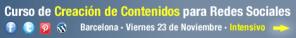 curso creacion de contenidos para redes sociales y empresa enrique san juan community internet barcelona
