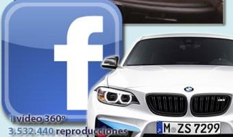 infografia BMW en Facebook Video 360 grados community internet the social media company