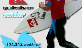 infografia Quiksilver Twitter community internet the social media company