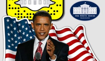 infografia White House Snapchat analisis community internet the social media company