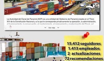 infografia canal panama Linkedin community internet the social media company community management