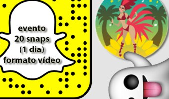 infografia carnaval rio de janeiro snapchat analisis community internet the social media company