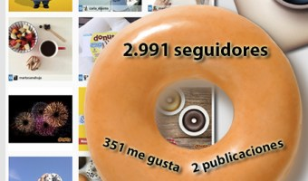 infografia donuts Instagram analisis community manager community internet the social media company