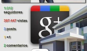 Fotocasa; buen contenido pero poca interacción en Google Plus