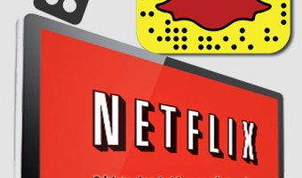 infografia netflix Snapchat analisis community internet the social media company