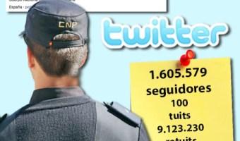 infografia policia nacional twitter community internet the social media company