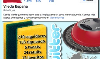 infografia vileda espana twitter community internet the social media company