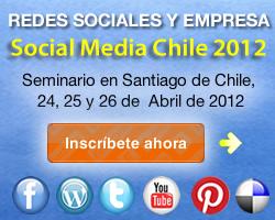 Seminario redes sociales y empresa social media chile 2012 enrique san juan community internet