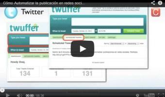 Videotutorial gratuito: Cómo automatizar publicaciones en redes sociales