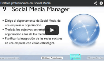 webinar gratuito salidas profesionales social media community internet the social media company
