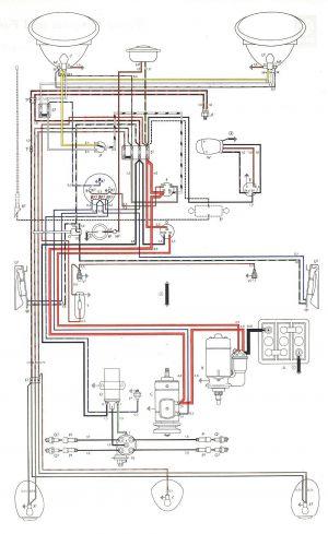 vw beetle wiring diagram  fans teilen deutschland bilder