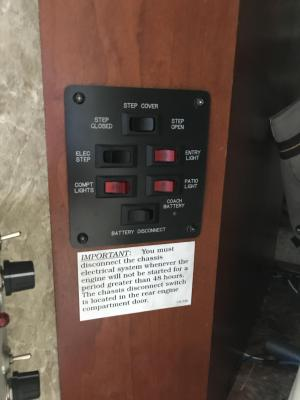 Battery Disconnect Switch  Electrical  FMCA Motorhome Forums