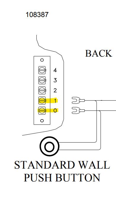 allstar garage door opener wiring diagram  extension cord