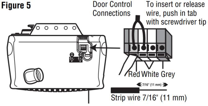 chamberlain whisper drive model 248739m  wiring openers