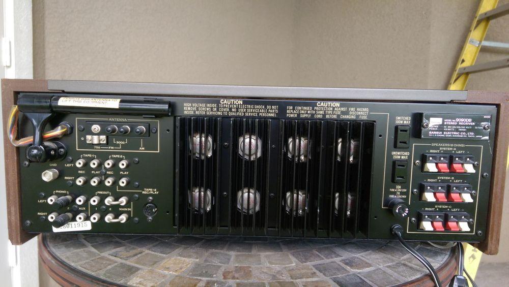 Sansui 9090db Sold Garage Sale The Klipsch Audio