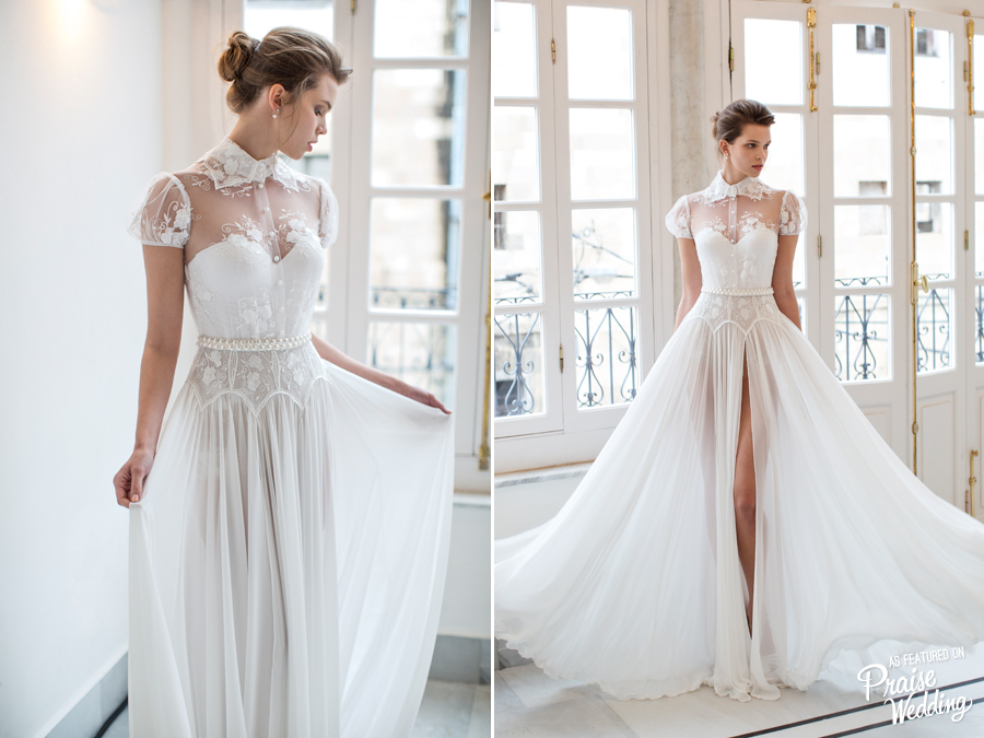 If You're Looking For An Unconventional Wedding Dress That
