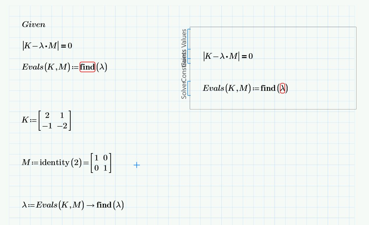 Solved Solve Non Trivial Solution To A Matrix Function Ot