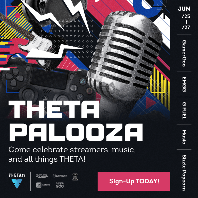 Thetapalooza – Celebrating all things THETA.tv