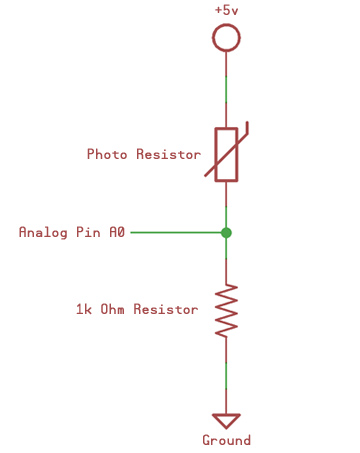 Light Sensor Circuit Diagram