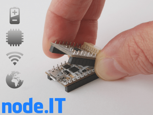 nodeIT IoT device on Kickstarter uses ESP8266 and ThingSpeak