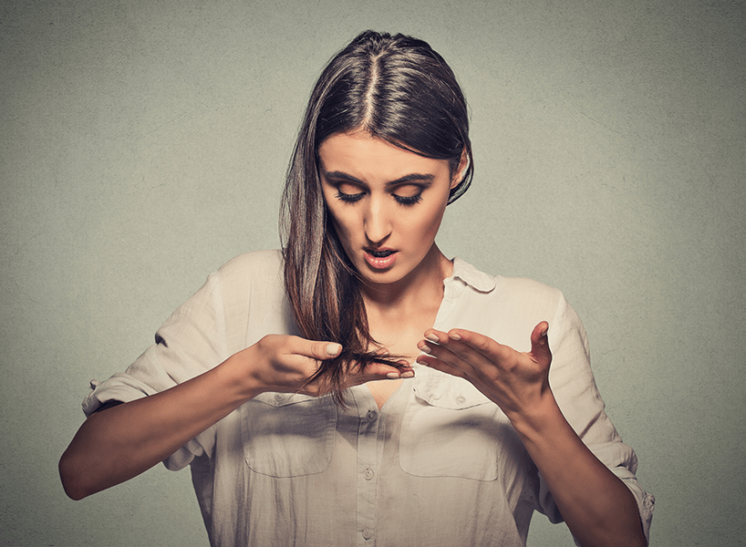 Women Experiencing Thinning Hair