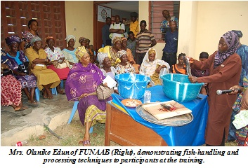 AMREC Trains Ogun Rural Women