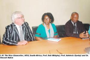 South African Varsity to Partner FUNAAB