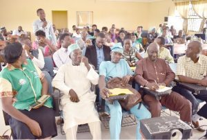 A Cross-Section of Resource Persons and participants at the programme