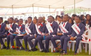 A Cross-Section of the Graduands