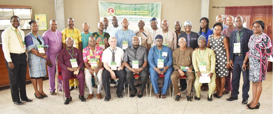 Group photograph of the participants at the International Summit on Forestry, Wildlife and Fisheries Management