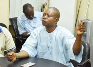 NURTW Chairman, FUNAAB/Alabata Unit, Mr. Adewale Adegboyega