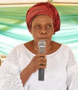 Head Teacher, Mrs. Florence Alade