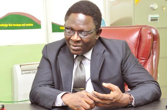 Professor Olusola Oyewole, Vice-Chancellor.