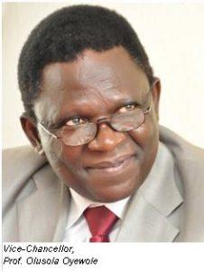 Vice Chancellor, Professor Olusola Oyewole