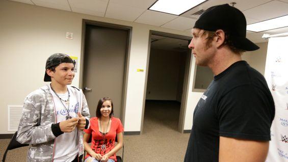 Circle Of Champions Dean Ambrose Meets Craig Photos WWE Community