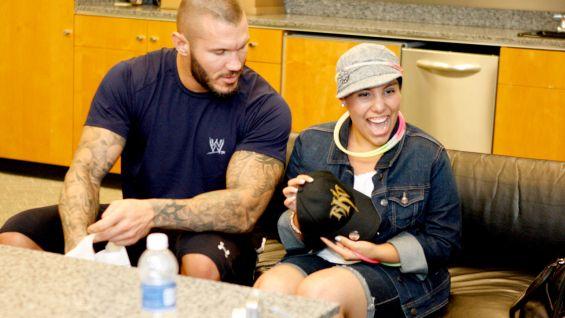 Circle Of Champions John Cena Meets Dakota And Randy Orton Meets Sefora Photos WWE Community