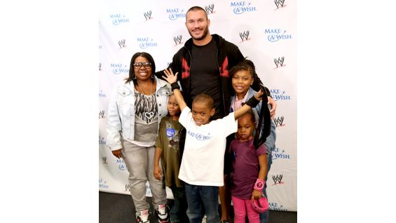 Circle Of Champions Randy Orton Meets Allison And Brandon Photos WWE Community
