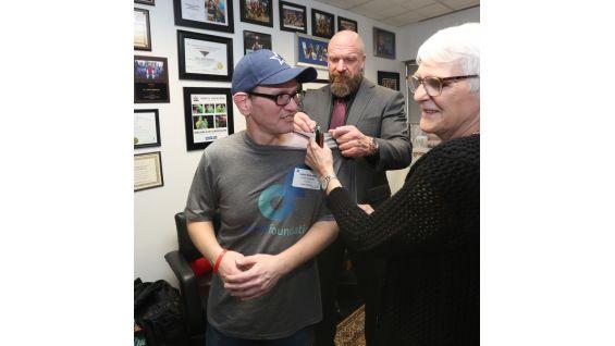 Triple H Grants Johns Wish At WWE HQ Photos WWE Community