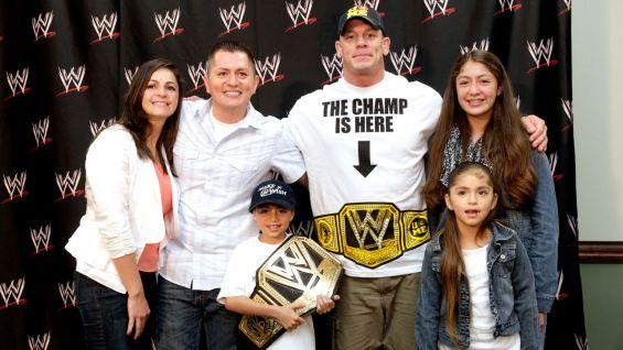 Circle Of Champions John Cena Meets Isaiah And Juan Photos WWE Community