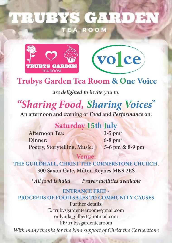 15 July Flyer Trubys & 1 Voice Poster (2) (1)