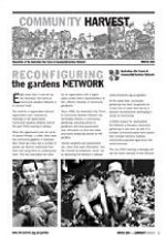 Community Harvest newsletter Winter '04