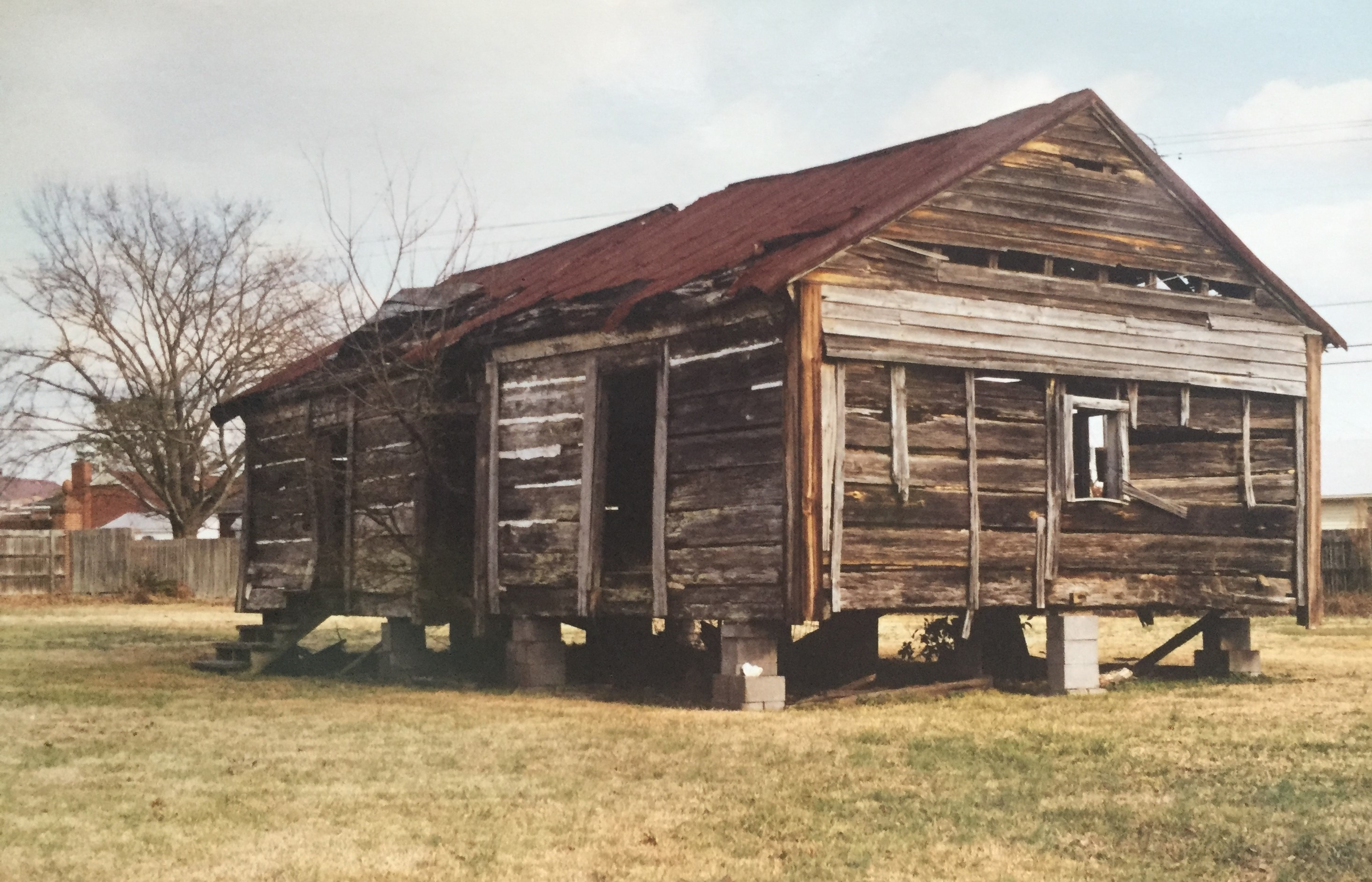 Photo 1 of possible slave cabin