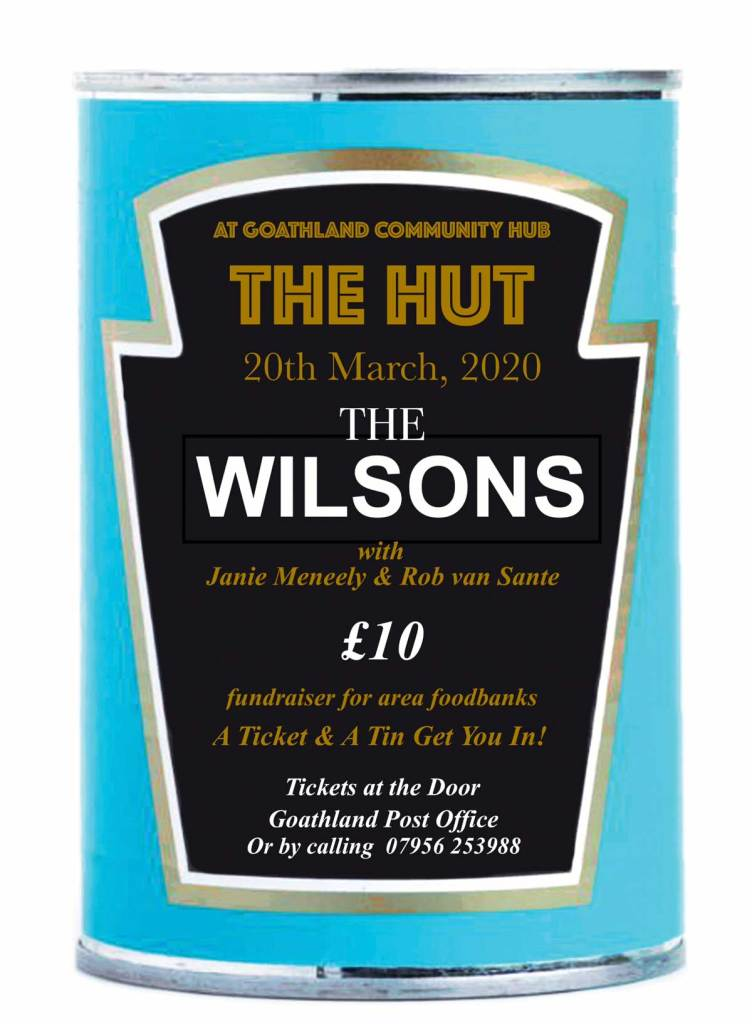 Poster for the Wilsons at the Hut